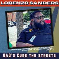 Cure the Streets: Lorenzo Sanders