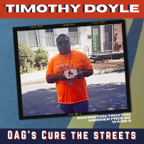 CTS Cure the Streets Timothy Doyle