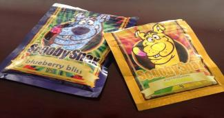 Packaged synthetic drugs
