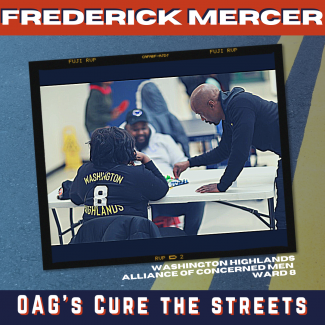 Cure the Streets Spotlight Frederick Mercer CTS