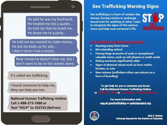 Fighting Sex Trafficking Year-Round | Attorney General Karl